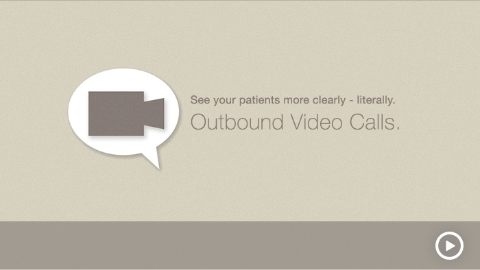 Play Outbound Video Calls demo video
