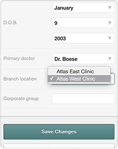 Doctor and Patient Location Flexibility